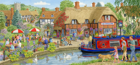 """Lunch at the Swan"" - Jigsaw"